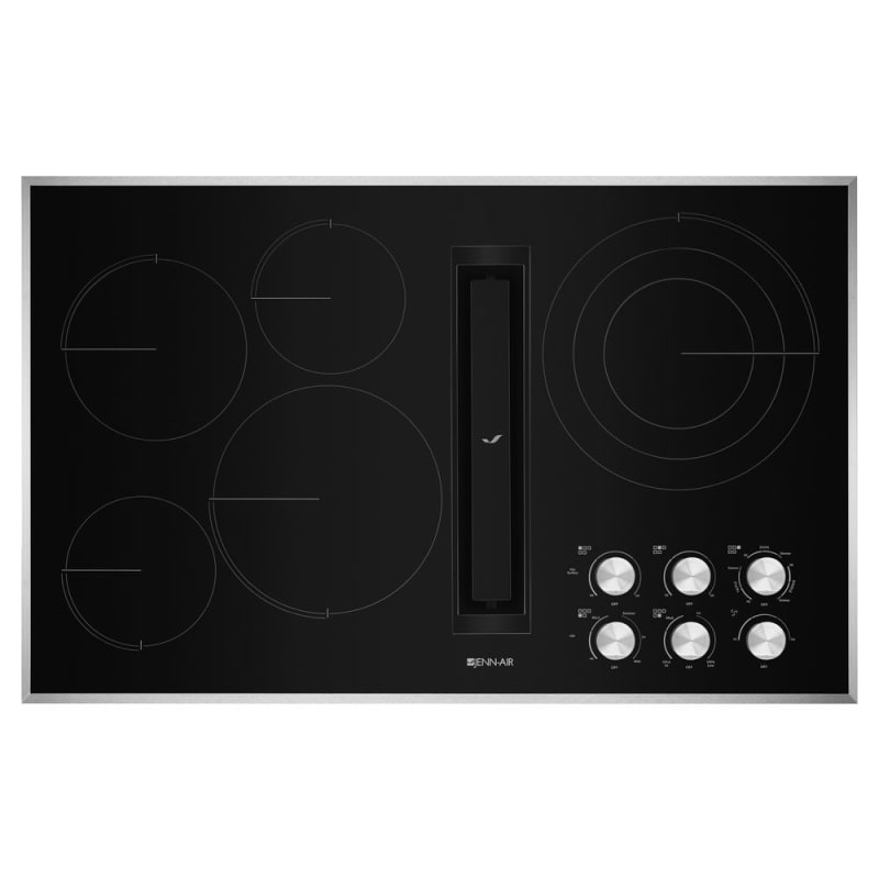 Jenn-Air JED3536G 36 Inch Wide Built-In Electric Radiant Cooktop with Downdraft photo