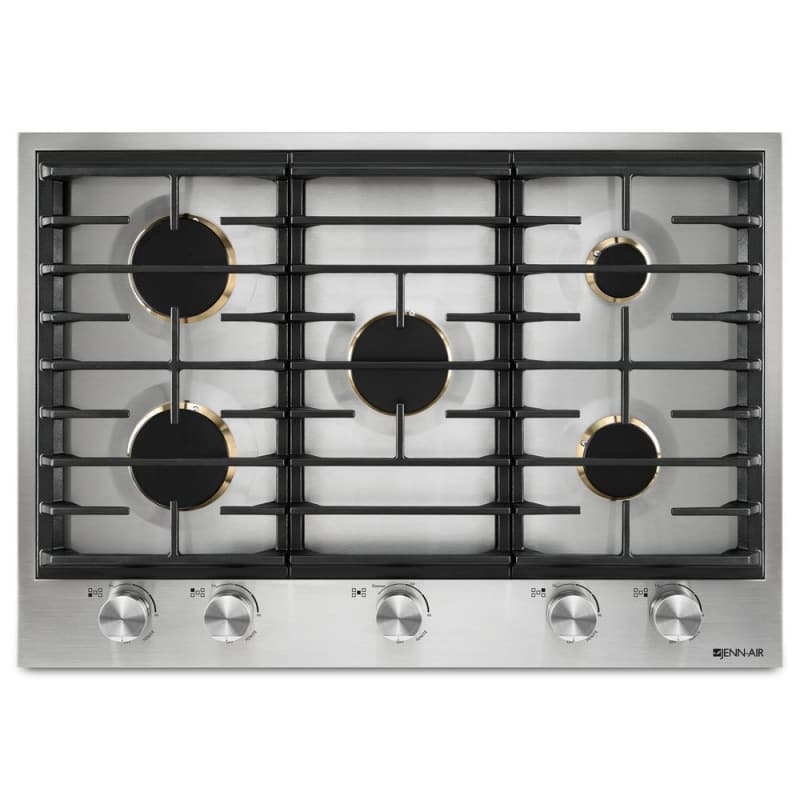 Jenn-Air JGC3530GS 30 Inch Wide Built-In Gas Cooktop with Dual-Stacked PowerBurn photo
