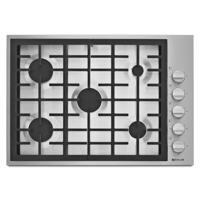 Jenn-Air JGC7530BP 30 Inch Wide Built-In Gas Cooktop with Dual-Stacked PowerBurn photo
