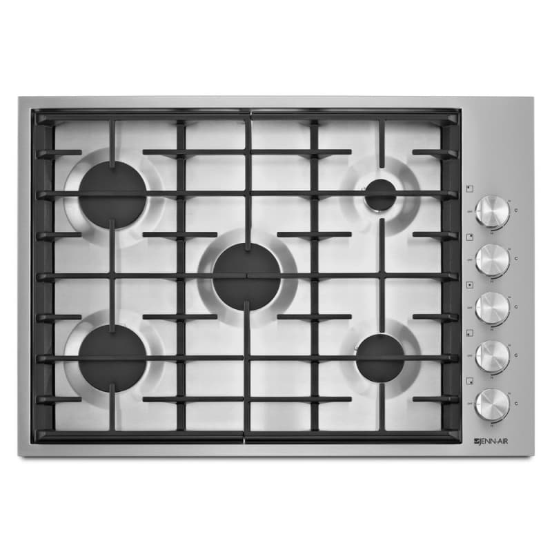 Jenn-Air JGC7530BS 30 Inch Wide Built-In Gas Cooktop with Dual-Stacked PowerBurn photo