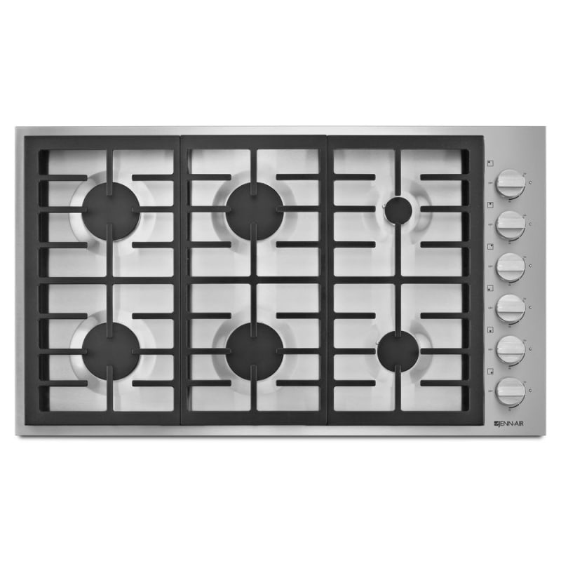 Jenn-Air JGC7636BP 36 Inch Wide Built-In Gas Cooktop with Brass PowerBurner and photo