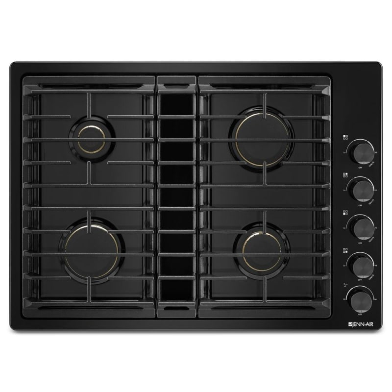 Jenn-Air JGD3430G 30 Inch Wide Built-In Gas Cooktop with Downdraft Ventilation photo