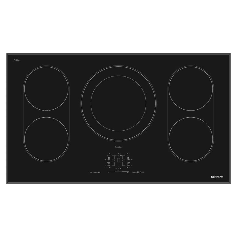 Jenn-Air JIC4536X 36 Inch Wide Built-In Electric Cooktop with Induction Cooking photo