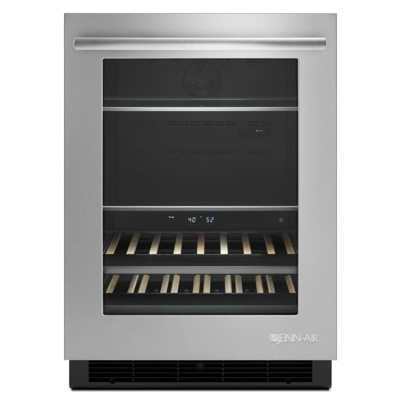Jenn-Air JUB24FLERS 24 Inch Wide 14 Bottle Capacity Beverage Center with Indepen photo