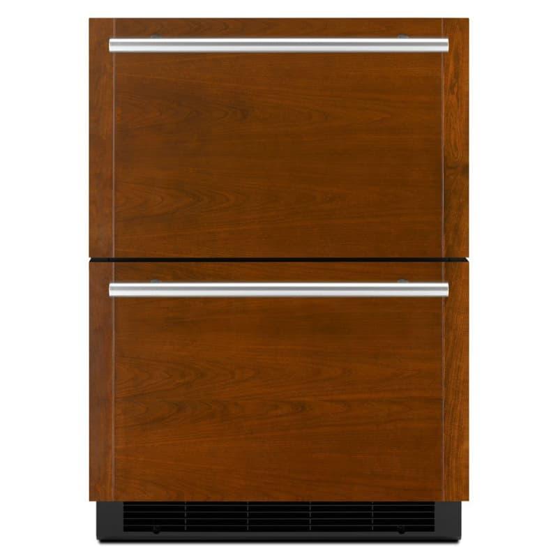 Jenn-Air JUD24FRECX 24 Inch Wide Panel Ready Refrigerator/Freezer Drawers with L photo