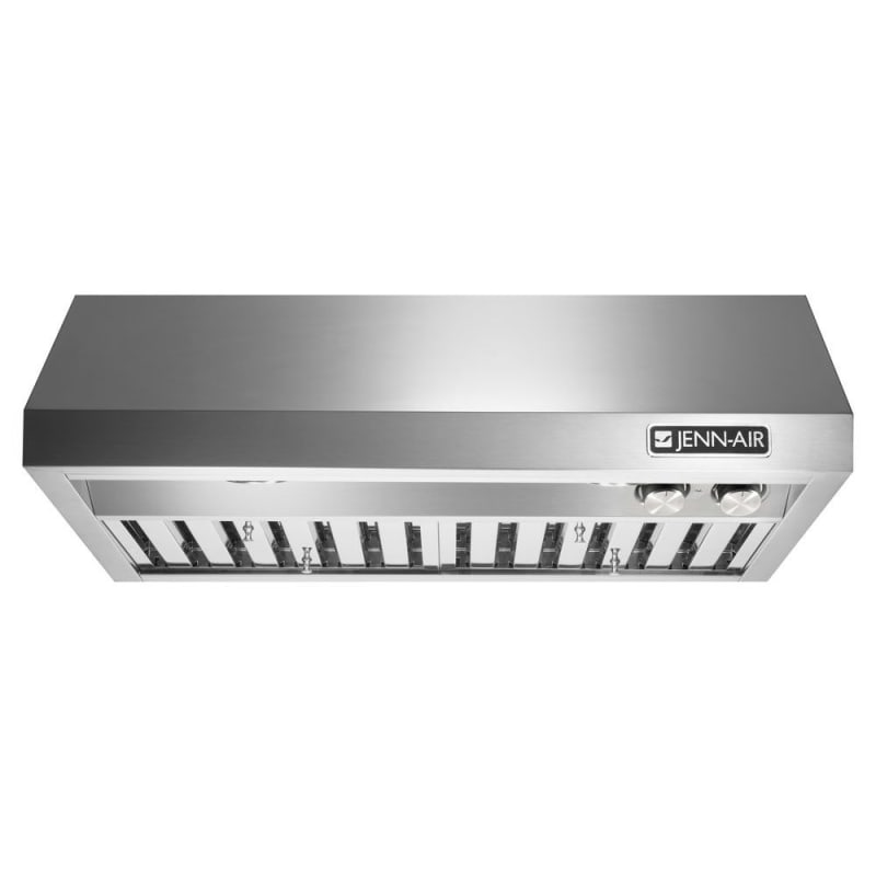 Jenn-Air JXU9136WP 600 CFM 36 Inch Wide Under Cabinet Range Hood with Halogen Li photo