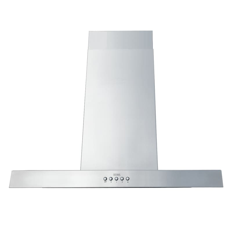 KOBE ISX2136SQB-DC37-2 680 CFM 36 Inch Wide Stainless Steel Island Range Hood wi photo