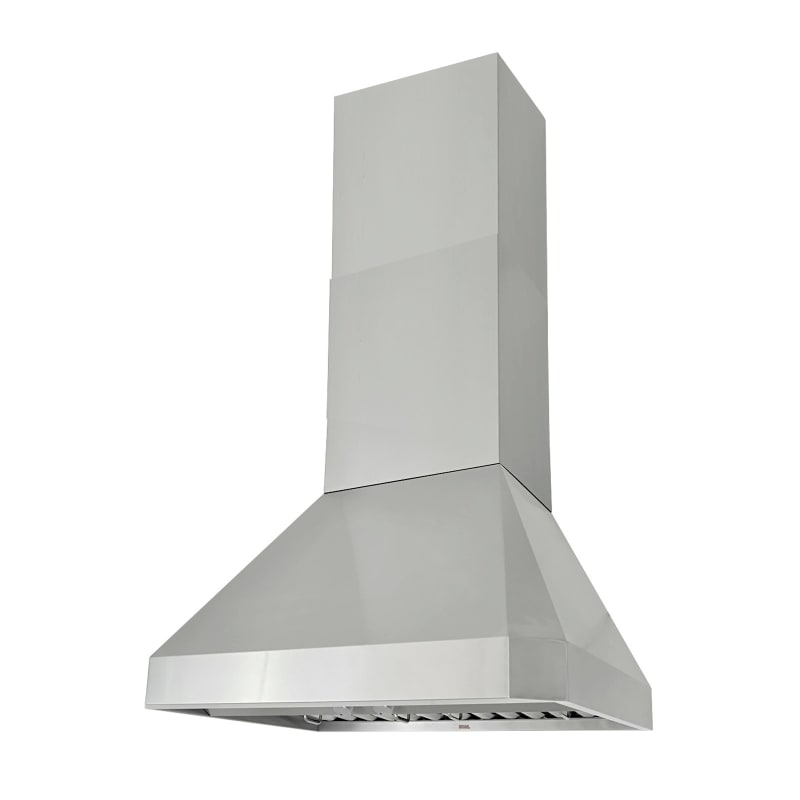 KOBE RA0230SQB-DC48-1 760 CFM 30 Inch Wide Wall Mount Range Hood with QuietMode photo
