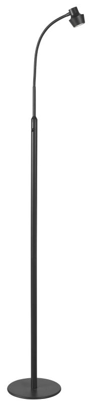 Kenroy Home 32153 Stanton 1 Gooseneck Light LED Floor Lamp