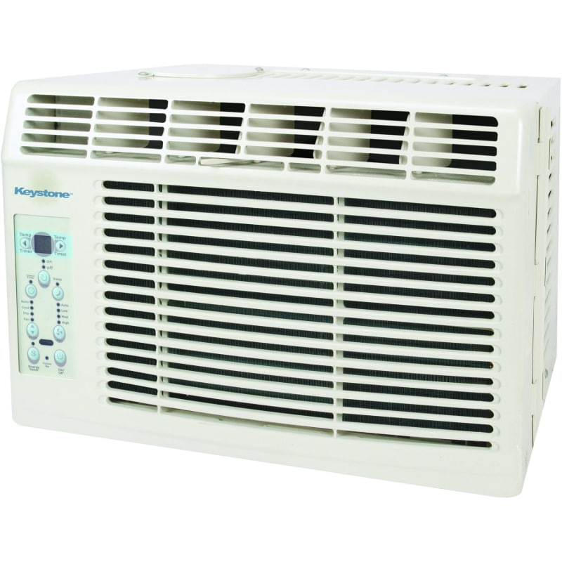 Keystone KSTAW06B 6000 BTU 115 Volt Window Air Conditioner with Follow Me Temper photo