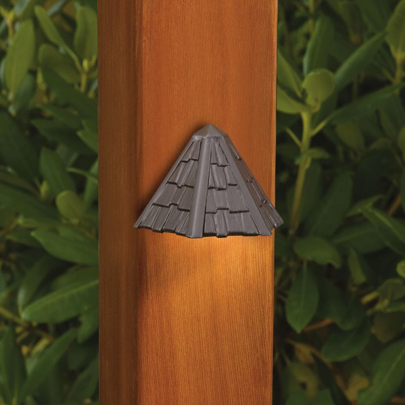 Kichler 15461 Thatched Roof Low Voltage Deck & Patio Light Home Coupons