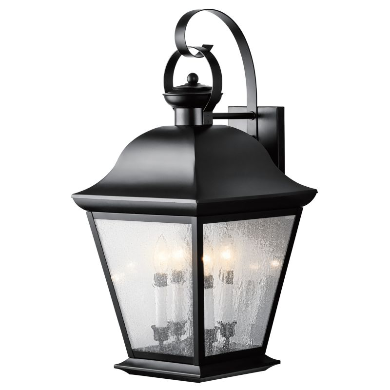mount vernon collection 4 light 28 outdoor wall light outdoor lighting. Black Bedroom Furniture Sets. Home Design Ideas