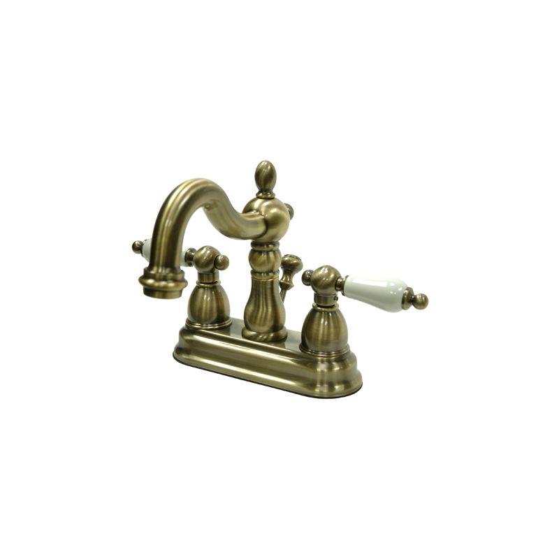 663370039416 UPC - Kingston Brass Kb1603pl Heritage 4 Inch Centerset ...