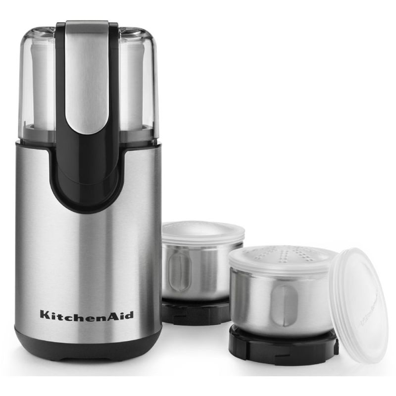 KitchenAid BCG211 Blade Coffee and Spice Grinder with Stainless Steel Grinding B photo