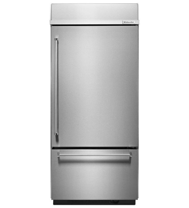 KitchenAid KBBR206E 36 Inch Wide 20.9 Cu. Ft. Built-In Bottom Freezer Refrigerat photo