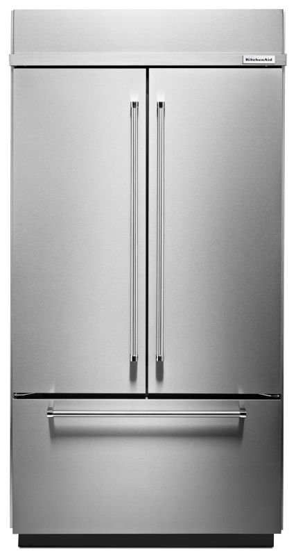 KitchenAid KBFN502E 42 Inch Wide 24.2 Cu. Ft. Energy Star Rated Built-In French photo