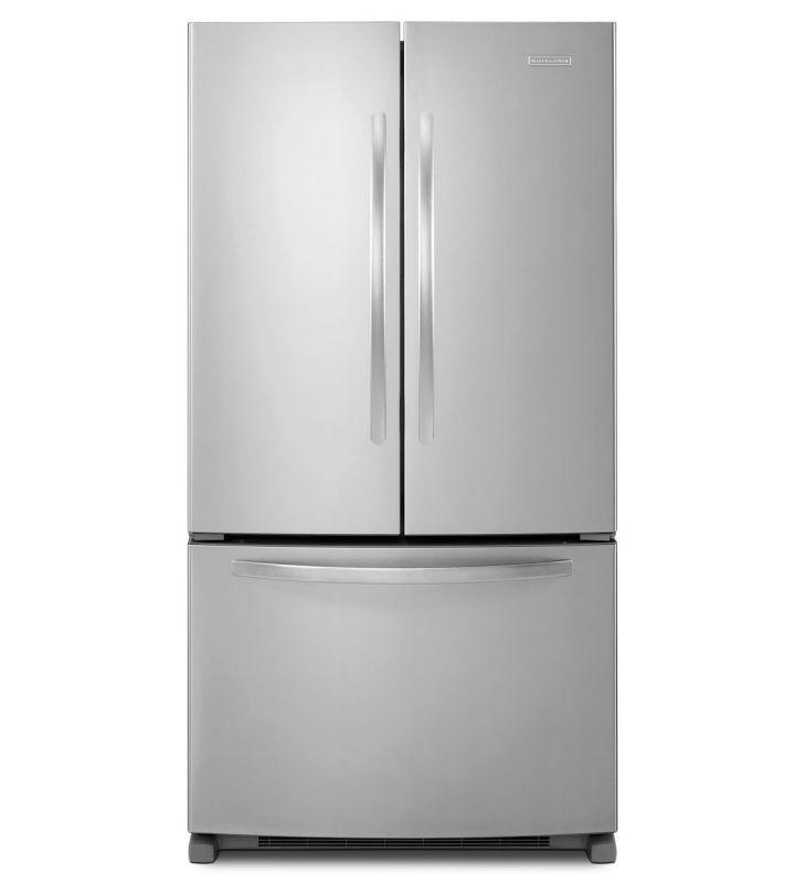 Kitchenaid Krff305ebs 25 2 Cu Ft French Door Refrigerator: Kitchenaid Refrigerator