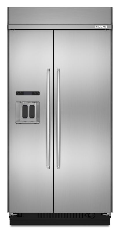 KitchenAid KBSD608E 48 Inch Wide 29.5 Cu. Ft. Energy Star Rated Built-In Side-by photo