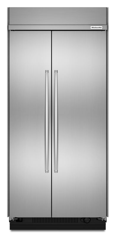 KitchenAid KBSN602E 42 Inch Wide 25.5 Cu. Ft. Refrigerator Built-In Side-by-Side photo