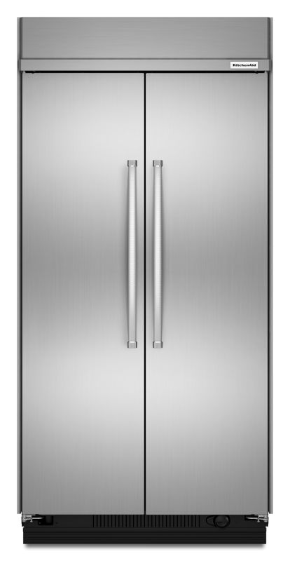 KitchenAid KBSN608E 48 Inch Wide 30.0 Cu. Ft. Refrigerator Built-In Side-by-Side photo
