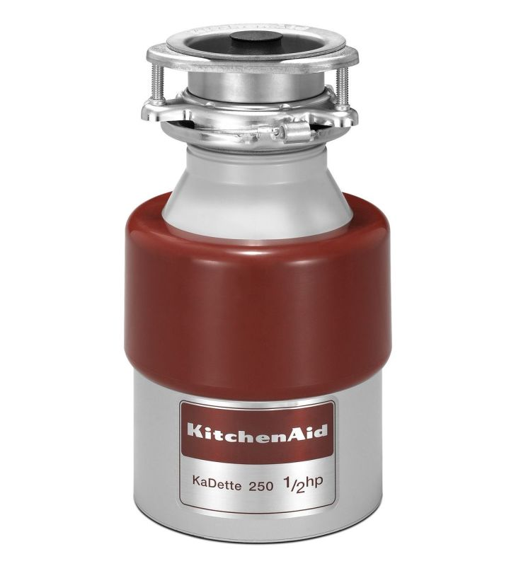 KitchenAid KCDB250G 1/2 Horsepower Continuous Feed Food Waste Disposer photo