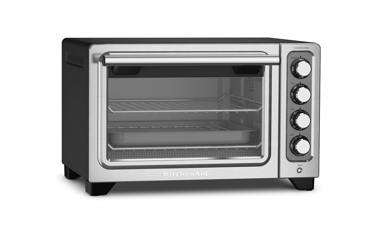 KitchenAid KCO253 18 Inch Wide Electric Toaster Oven with Convection photo