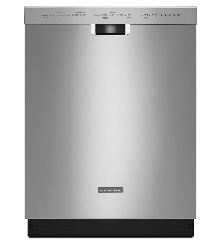 KitchenAid KDFE104D 24 Inch Wide Energy Star Dishwasher with Pocket Handle photo