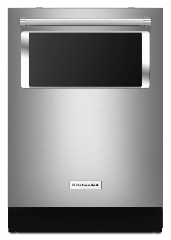 KitchenAid KDTM384E 24 Inch Wide Energy Star Rated Dishwasher with Viewing Windo photo