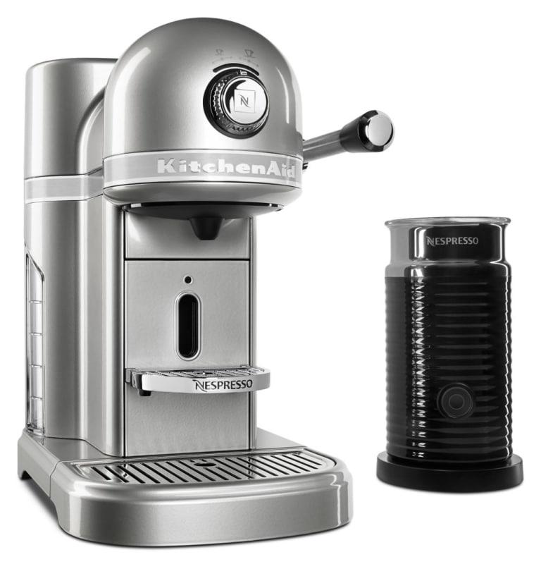 KitchenAid KES0504 Nespresso® 1160 Watt Espresso Maker with Milk Frother photo