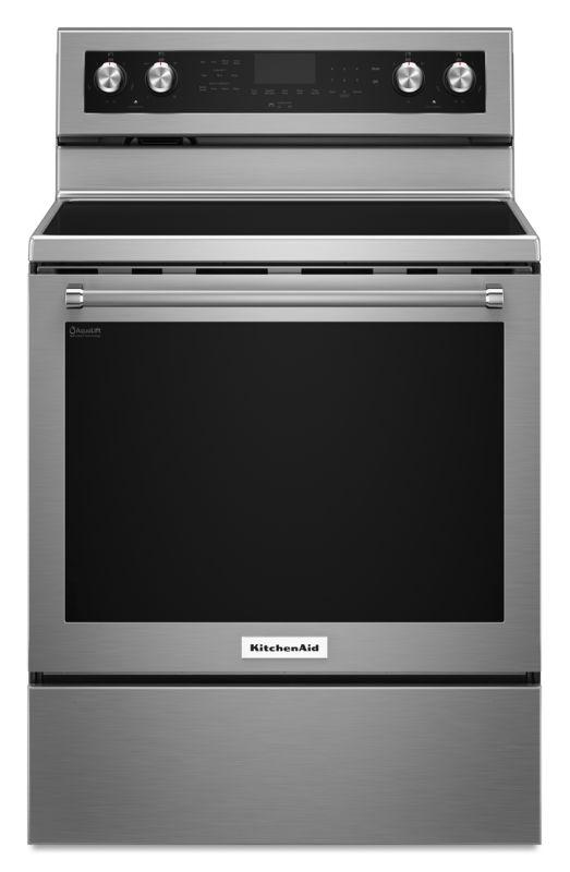 KitchenAid KFEG500E 30 Inch Wide 6.4 Cu. Ft. Electric Freestanding Range with St photo