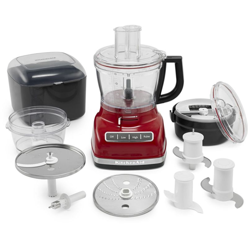 KitchenAid KFP1466 3 Speed 14 Cup Food Processor with External Adjustment Lever photo