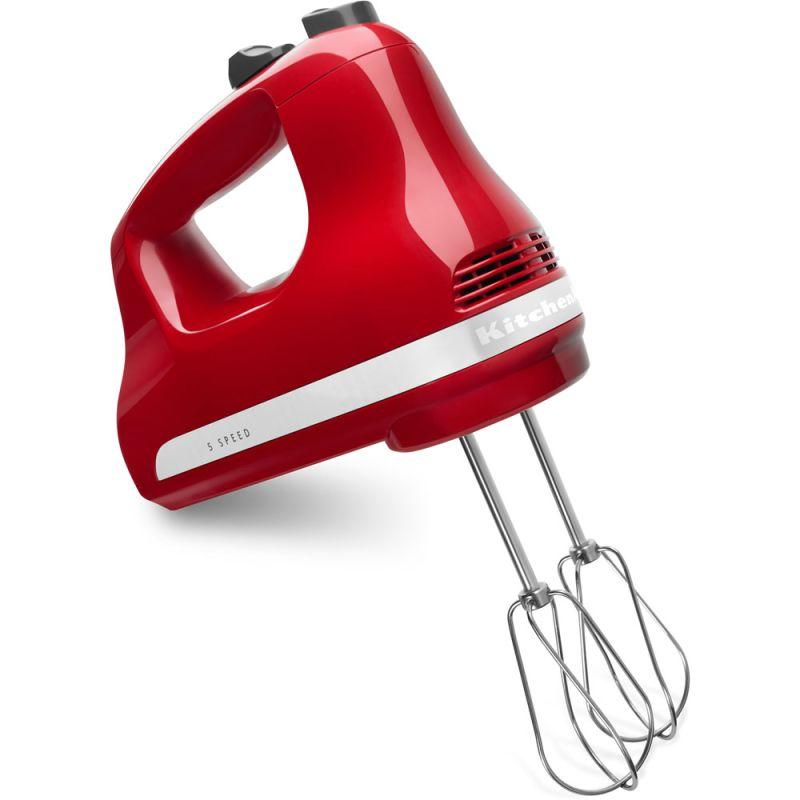 KitchenAid KHM512 5 Speed Hand Mixer with Turbo Beater Accessories photo