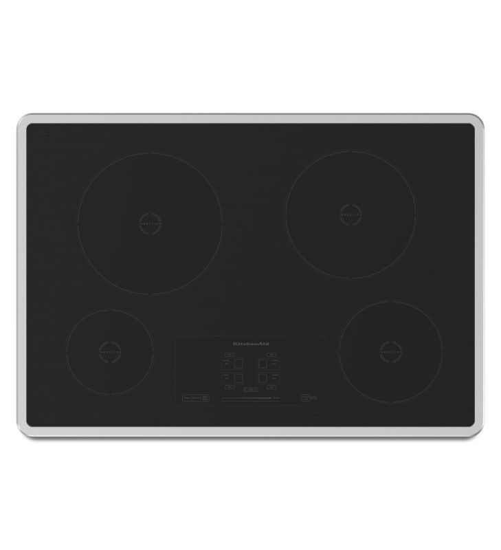 KitchenAid KICU500X 30 Inch Wide Induction Cooktop with Performance Boost from t photo