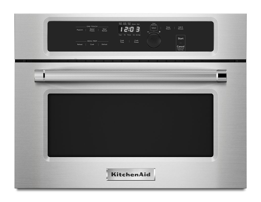 KitchenAid KMBS104E 24 Inch Wide 1.4 Cu. Ft. Built-In Microwave with 1000W Cooki photo