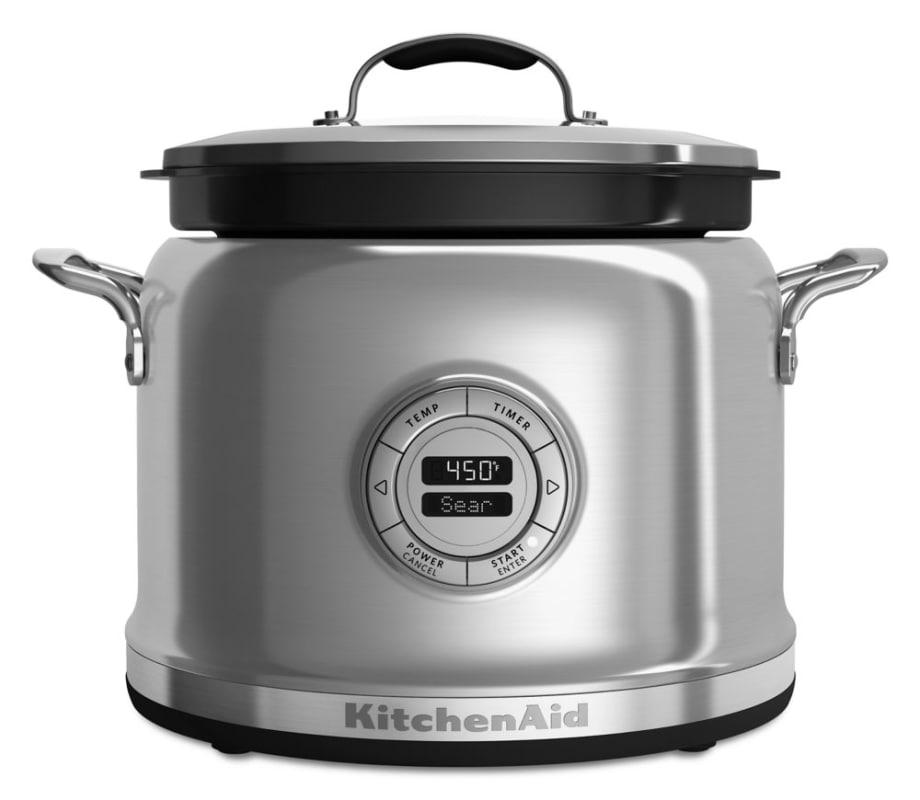 KitchenAid KMC4241 4 Qt. Multi Cooker with 12-Hour Programming photo