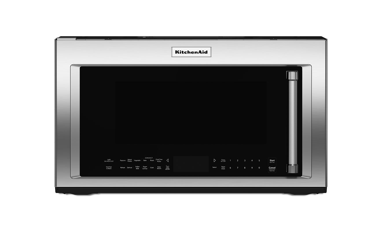 KitchenAid KMHC319E 30 Inch Wide 1.9 Cu. Ft. Over-the-Range Microwave with 1000W photo