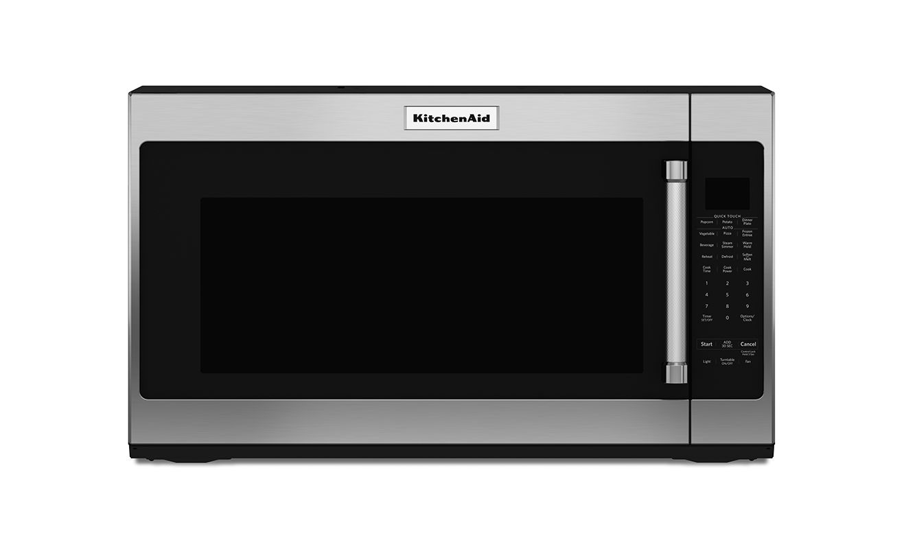 KitchenAid KMHS120E 30 Inch Wide 2.0 Cu. Ft. Over-the-Range Microwave with 1000W photo