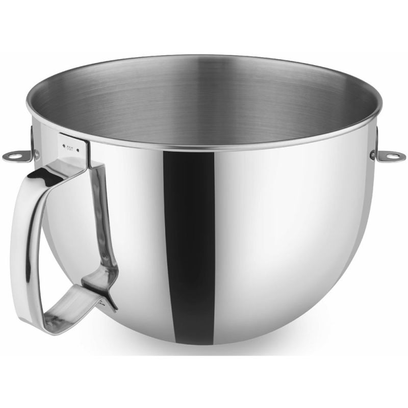 KitchenAid KN2B6P 6 Qt. Bowl Polished Stainless Steel w/Comfortable Grip for use photo
