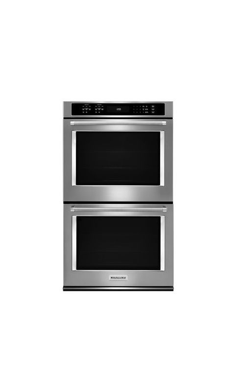 KitchenAid KODE500E 30 Inch Wide Electric 10.0 Cu. Ft. Double Wall Oven with Eve photo
