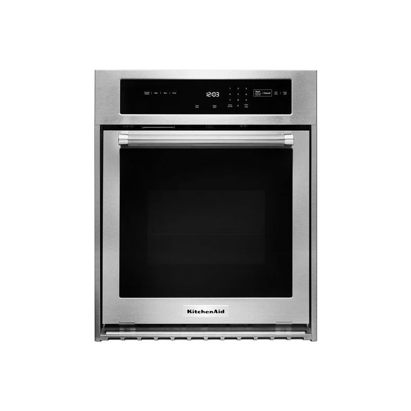 KitchenAid KOSC504E 24 Inch Wide 3.1 Cu. Ft. Electric Single Wall Oven with True photo