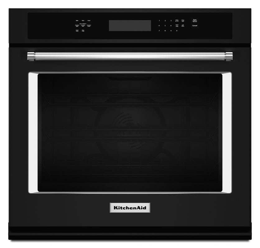 KitchenAid KOSE500E 30 Inch Wide 5.0 Cu. Ft. Electric Wall Oven with Even-Heat T photo