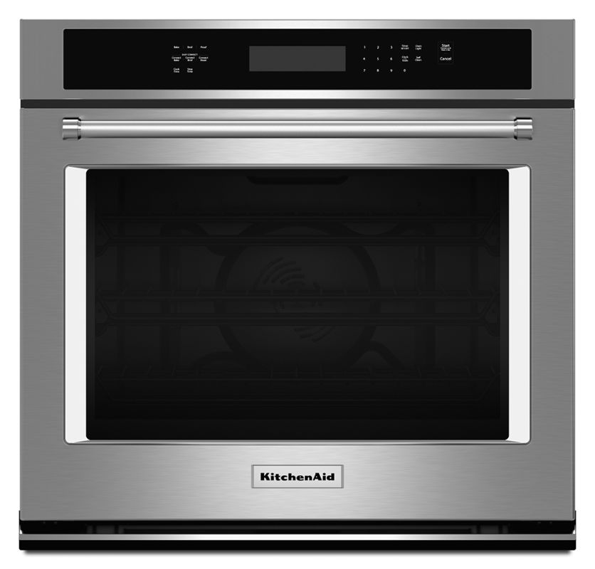 KitchenAid KOSE507E 27 Inch Wide 4.3 Cu. Ft. Electric Wall Oven with Even-Heat T photo