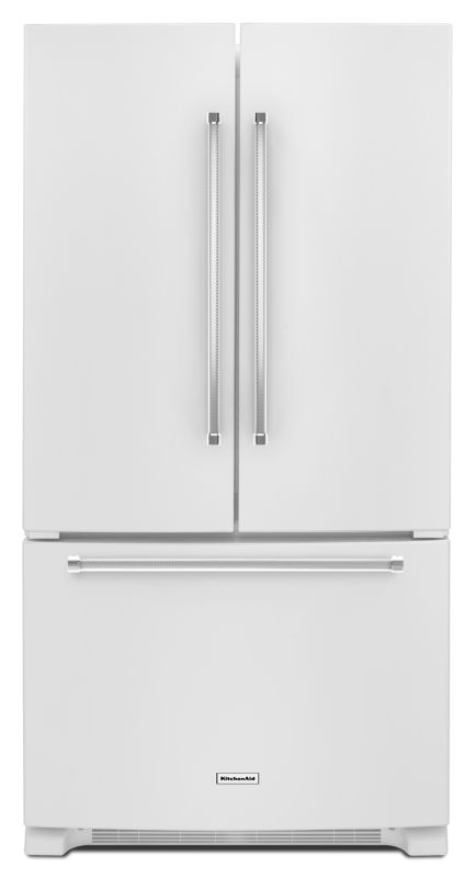 KitchenAid KRFC300E 36 Inch Wide 20 Cu. Ft. French Door Refrigerator with Interi photo