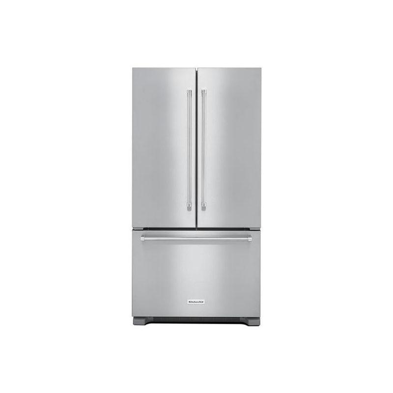 KitchenAid KRFC302E 36 Inch Wide 22.0 Cu. Ft. Counter Depth French Door Refriger photo