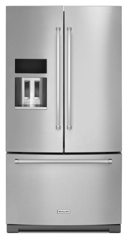 KitchenAid KRFF707E 36 Inch Wide 26.8 Cu. Ft. Standard Depth French Door Refrige photo