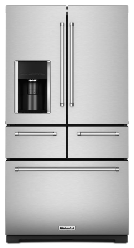 KitchenAid KRMF606E 36 Inch Wide 25.8 Cu. Ft. Multi-Door Refrigerator with In-Do photo