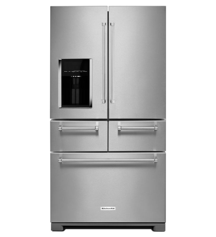 KitchenAid KRMF706E 36 Inch Wide 25.8 Cu. Ft. Multi-Door Refrigerator with In-Do photo