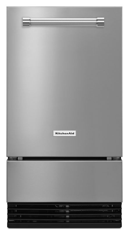 KitchenAid KUID508E 18 Inch Wide Automatic Ice Maker with Max Ice Mode and Inclu photo