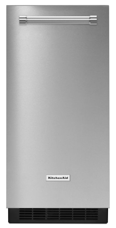 KitchenAid KUIX305E 15 Inch Wide Automatic Ice Maker with Max Ice Mode photo