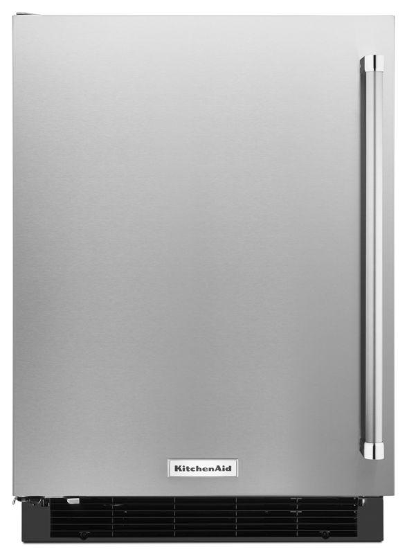 KitchenAid KURL104E 24 Inch Wide 4.9 Cu. Ft. Panel-Ready Undercounter Refrigerat photo